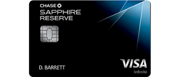 Chase Sapphire Reserve Credit Card Review