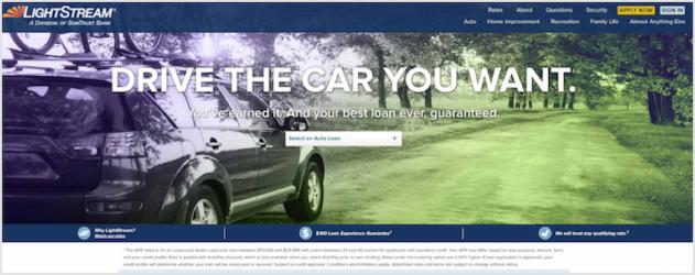 LightStream Auto Loan Review