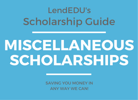 Miscellaneous Scholarships