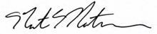 Nate Matherson Signature