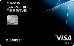 The Chase Sapphire Reserve Credit Card