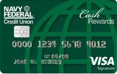 Navy Federal CashRewards Card