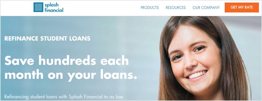 Splash Financial Banner