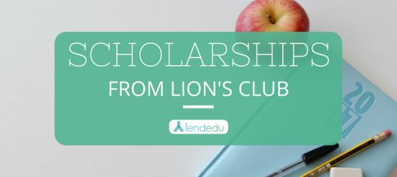 Lion's Club Scholarships