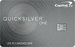 QuicksilverOne Rewards Card