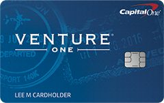 VentureOne Rewards Card
