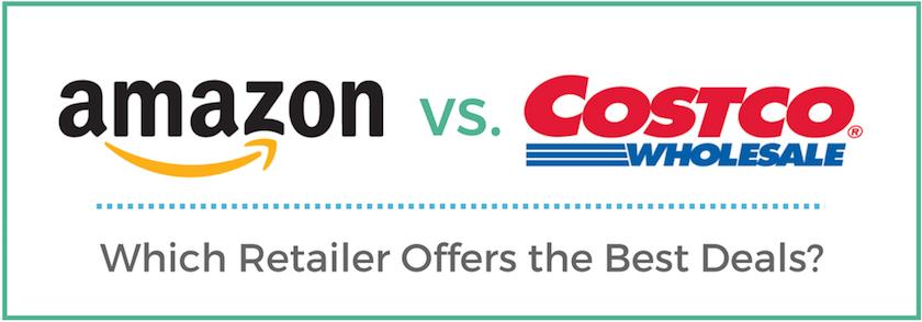 In Costco vs. Amazon, Which Is Cheaper?