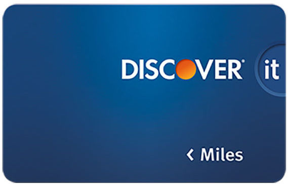 Discover it Miles Travel Card