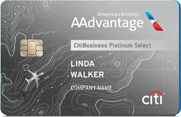 CitiBusiness AAdvantage Platinum Select Card