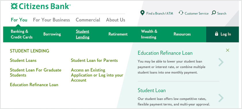 Citizens Bank Student Loans Review For 2018 Lendedu