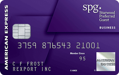 Amex Starwood Preferred Guest Business Credit Card
