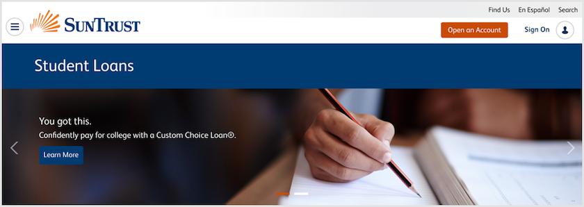 Suntrust student loans review for 2018 lendedu suntrust student loans reheart Images
