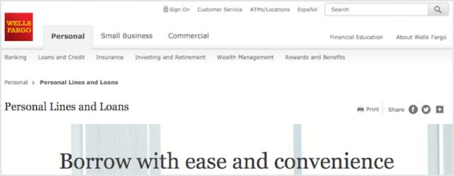 Wells Fargo Personal Loans Review