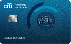 citi thankyou preferred card for college students review