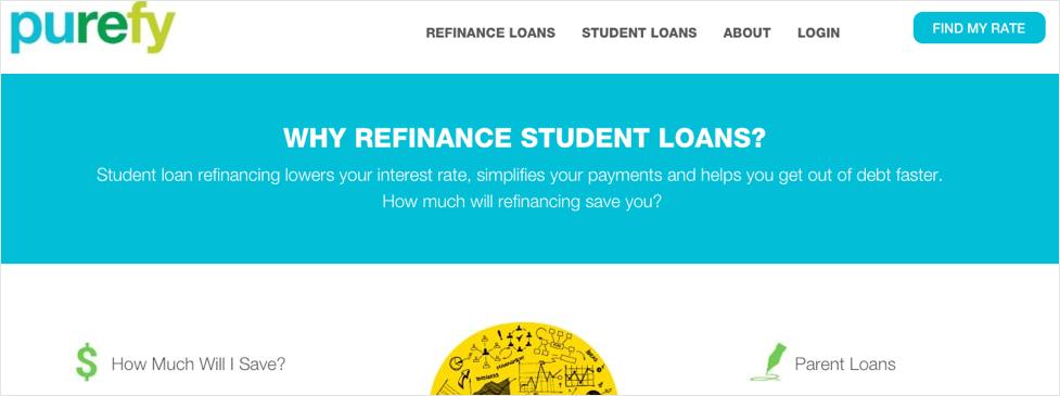 Purefy Refinance Student Loans