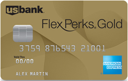 US Bank FlexPerks Gold American Express Credit Card