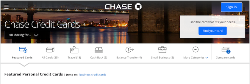 Best chase credit cards lendedu reheart Choice Image