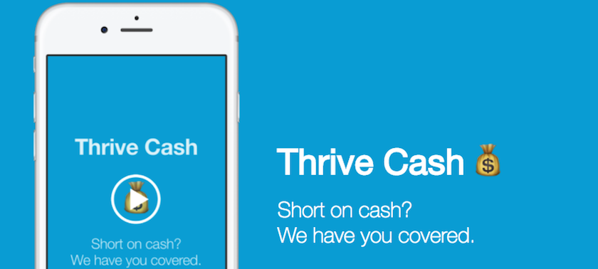 Thrive Cash Homepage
