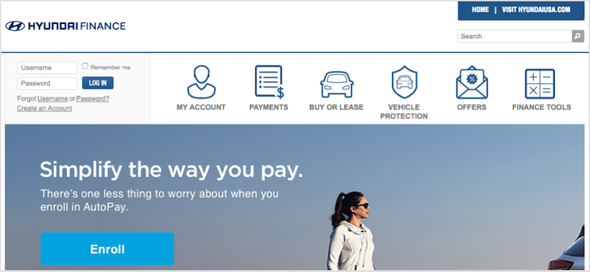 Lovely Hyundai Motor Finance Homepage