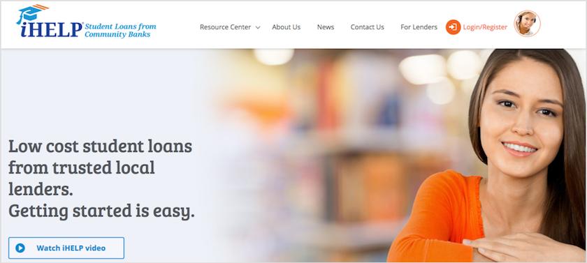 iHelp Homepage