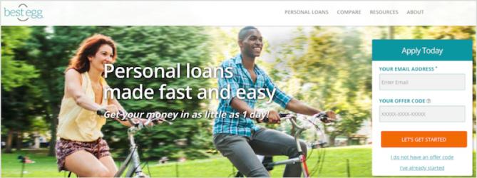 Best Egg Personal Loans