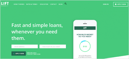 Lift Credit Review