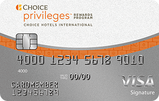 Choice Privileges® Visa Signature® Card