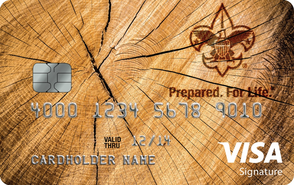 Boy Scouts Credit Card