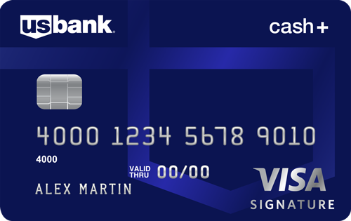 U.S. Bank Cash+ Visa Signature Credit Card