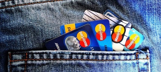 multiple credit cards credit score