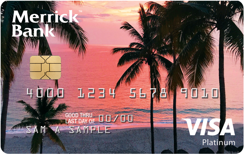 Merrick Bank Double Your Line Visa Credit Card