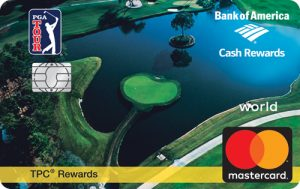 PGA TOUR BankAmericard Cash Rewards Mastercard
