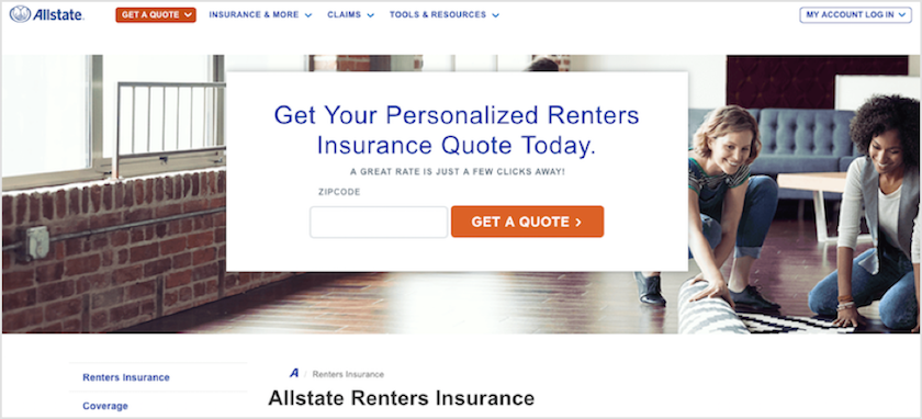 Allstate My Account >> Allstate Renters Insurance Review For 2019 Lendedu