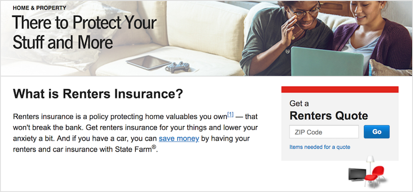 State Farm Renters Insurance Review