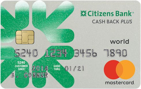 Citizens Bank Cash Back Plus