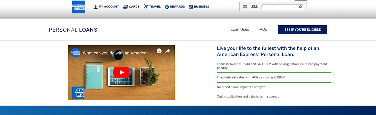 American Express Personal Loans Review
