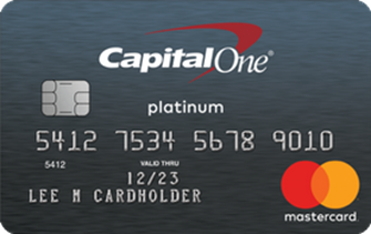 Platinum Card from Capital One