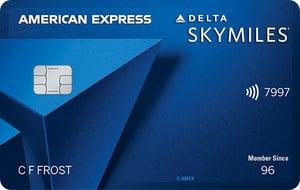 Delta SkyMiles Blue American Express Card