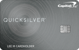 Capital One Quicksilver Rewards Card
