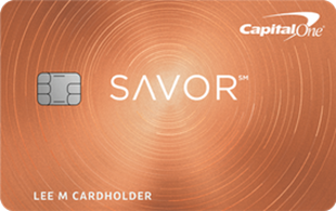Capital One Savor Cash Rewards Card