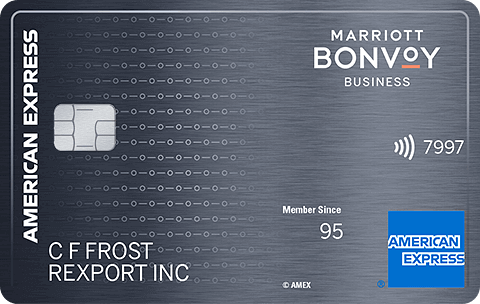 Marriot Bonvoy Business Amex