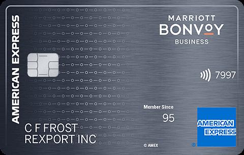 Marriott Bonvoy Business Card