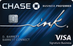 The Chase Ink Business Preferred Card