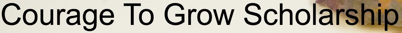 Courage to Grow Logo