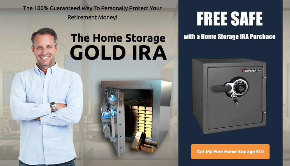 Home Storage Gold IRA Ad