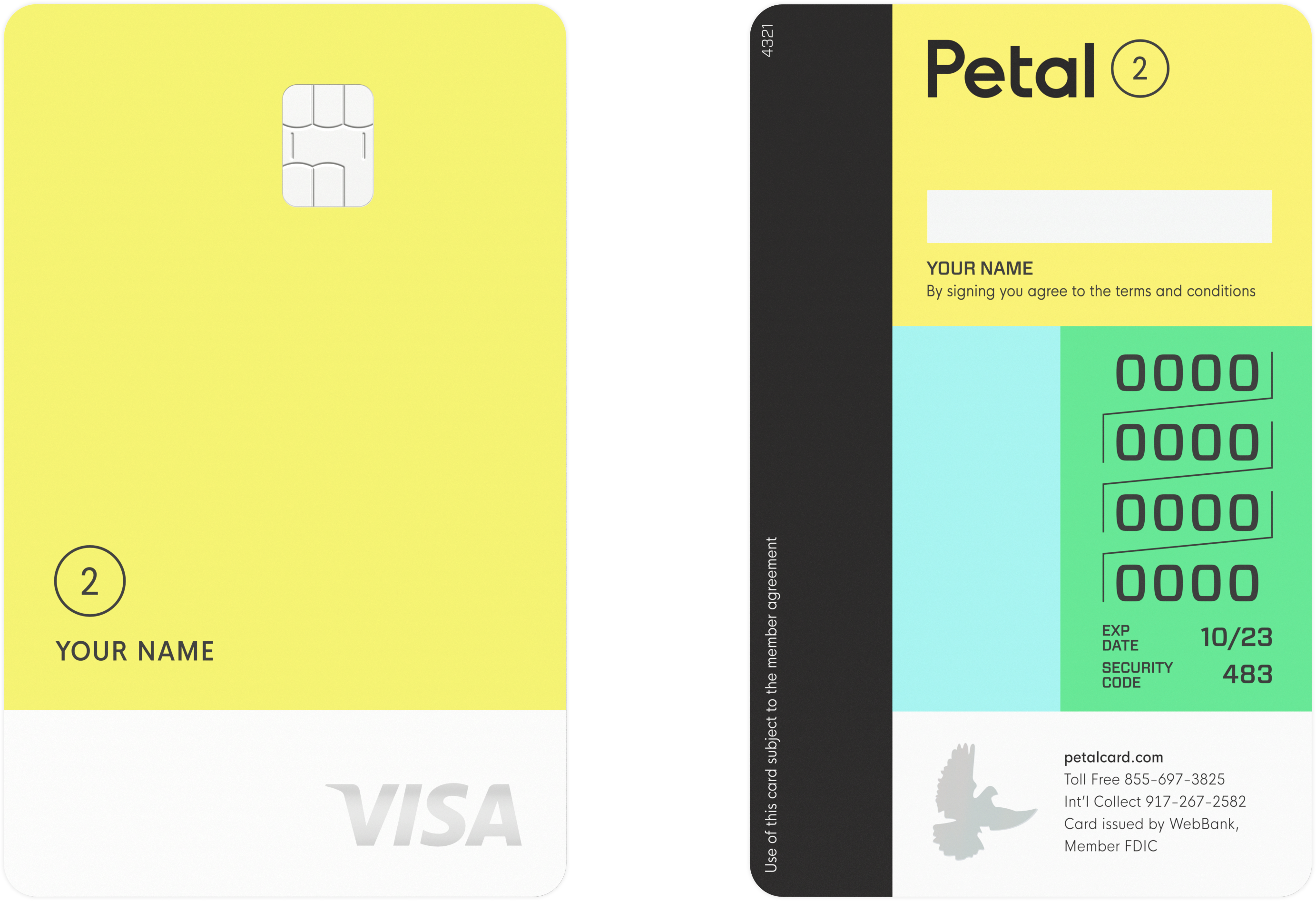 Petal 2 Visa Card