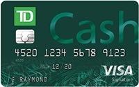 TD Cash Visa Card