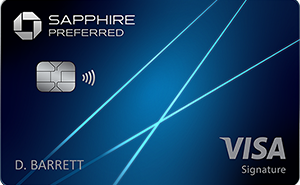 Chase Sapphire Preferred (August 17 2021)