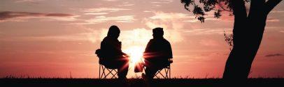 A couple enjoying retirement
